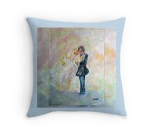 Wedding Dance Art Designed Decor & Gifts - Periwinkle Throw Pillow
