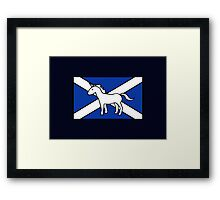 Unicorn, Scotland's National Animal Framed Print