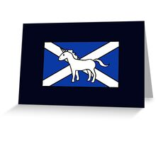 Unicorn, Scotland's National Animal Greeting Card