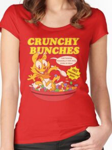 Crunchy Bunches Cereal Shirt Women's Fitted Scoop T-Shirt
