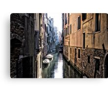 Secret Venice Canvas Print