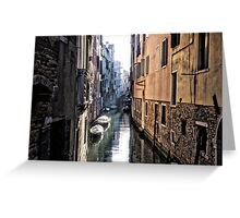 Secret Venice Greeting Card