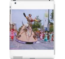 Adelaide Christmas Pageant 2014 Mulga Bill iPad Case/Skin