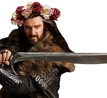 Flower Crown Thorin by casscain