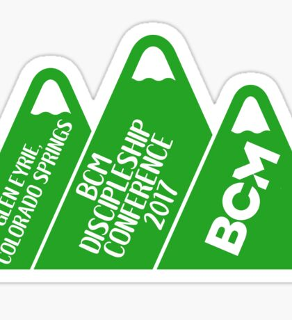 BCM D'ship Conference at the Glen Sticker