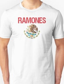 Ramones Surname Mexican T-Shirt