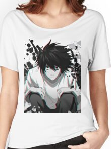 Death Note L Women's Relaxed Fit T-Shirt