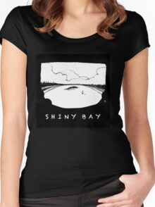 Shiny Bay - where you'd rather be Women's Fitted Scoop T-Shirt