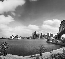 Sydney from Kirribilli by Julie Begg
