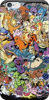Gen I - Pokemaniacal Colour by Alex Clark