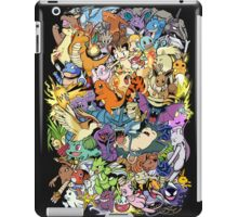 Gen I - Pokemaniacal Colour iPad Case/Skin