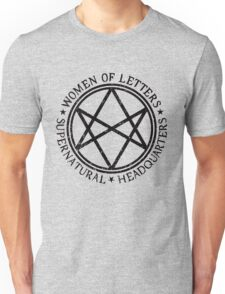 Women of letters supernatural Unisex T-Shirt