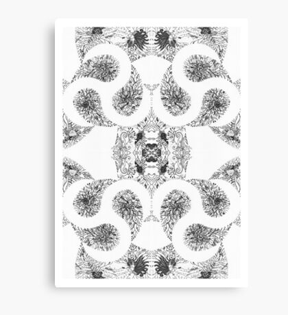 The Space Between Things Canvas Print