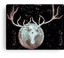 Deer Bust Canvas Print