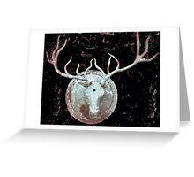 Deer Bust Greeting Card