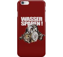 Save Water (GER.) iPhone Case/Skin