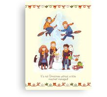Mischievous Magical Merriment Canvas Print