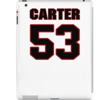 NFL Player Chris Carter fiftythree 53 iPad Case/Skin
