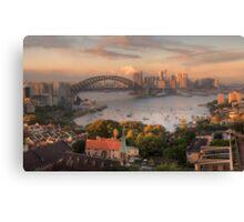 Velvet - Sydney  Harbour Sydney Australia - The HDR Experience Canvas Print