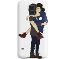 Clara and The Doctor  Samsung Galaxy Case/Skin