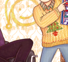 The Mystery of the Advent Chocolates Sticker