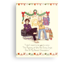 The Mystery of the Advent Chocolates Metal Print