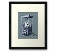 Broken Rabbit Framed Print