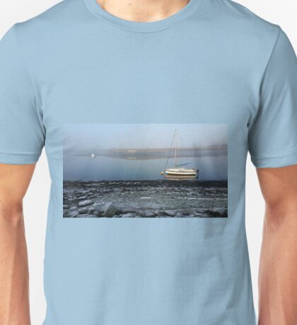 Frosty Morning by the River Unisex T-Shirt