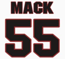 NFL Player Alex Mack fiftyfive 55 by imsport