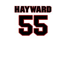 NFL Player Adam Hayward fiftyfive 55 Photographic Print