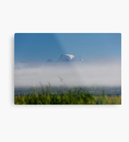 Over the fog Metal Print