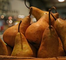 Beurre Bosc pears by Tessa Manning