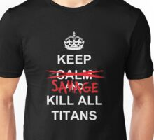 Attack on Titan - Stay Calm Unisex T-Shirt
