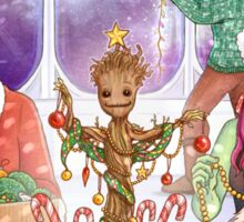 Groot's First Christmas Sticker