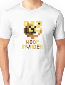 ROBUST INVADERS SPACE WOOF Unisex T-Shirt