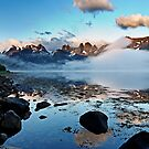 The fjord by Frank Olsen