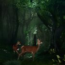 Forrest Scene by scatharis