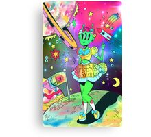 Peace Out, Girl Scouts Canvas Print