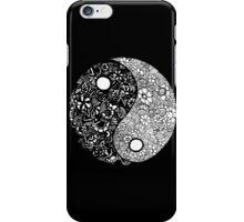 Yin-Yang (Black) iPhone Case/Skin