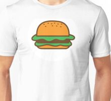 Single burger hamburger Unisex T-Shirt
