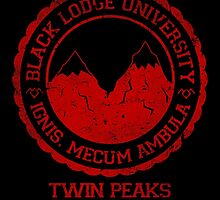 Black Lodge University by CXPStees