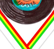 Reggae Forever. Sticker