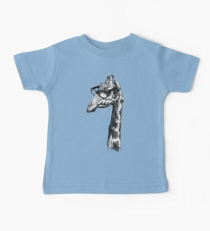 Short-Sighted Giraffe Baby Tee