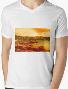 Santa Margherita repainted Mens V-Neck T-Shirt