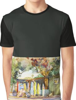 North Shore Surf Shack Graphic T-Shirt