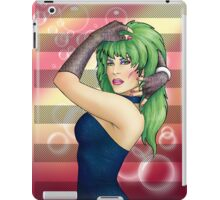 Glam Rock Pinup - Pizzaz iPad Case/Skin