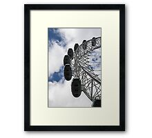London eye - ferris wheel Framed Print