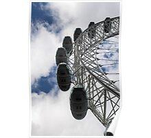 London eye - ferris wheel Poster