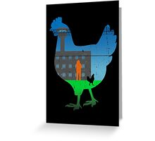 The Chickening Greeting Card
