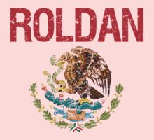 Roldan Surname Mexican Kids Clothes